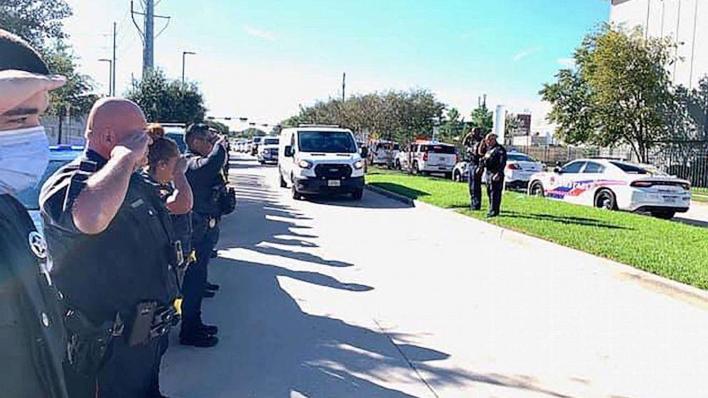 Gunman who ambushed three Texas deputies, killing one, remains on the run: Police