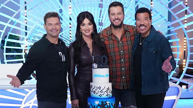 """Things are looking UP"": Luke Bryan commemorates 'American Idol's upcoming 20th season"