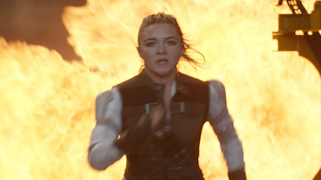 Florence Pugh explains why her 'Black Widow' character Yelena should be your Halloween costume