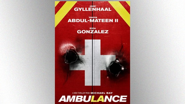 Check out Jake Gyllenhaal and Yahya Abdul-Mateen II in the action-packed trailer for Michael Bay's 'Ambulance'