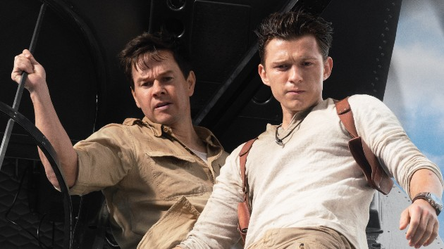 See Tom Holland flying high with Mark Wahlberg in the trailer for the video game adaptation 'Uncharted'