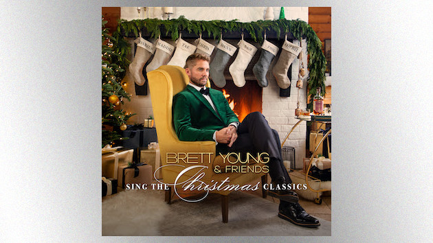 Brett Young spreads some early holiday cheer with 'Brett Young & Friends Sing the Christmas Classics'