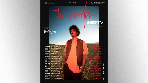 Tai Verdes announces HDTV Tour kicking off next spring