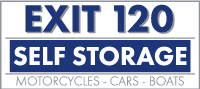 Exit 120 Self Storage Logo