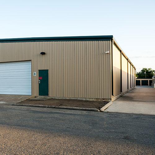 Exterior of Security Storage indoor storage building