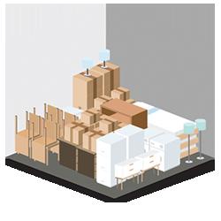 10' x 10' Storage Unit Graphic