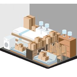 10' x 15' Storage Unit Graphic