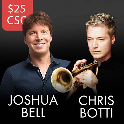 Josh Bell and Chris Botti