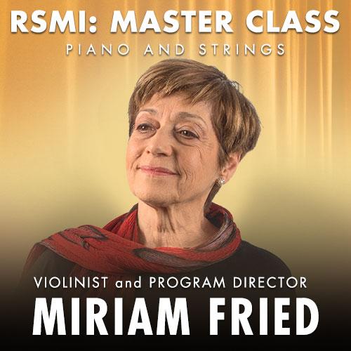 Miriam Fried, violin