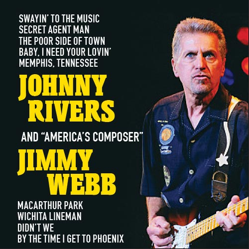 Johnny Rivers and Jimmy Webb