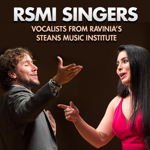 Vocalists from Ravinia's Steans Music Institute