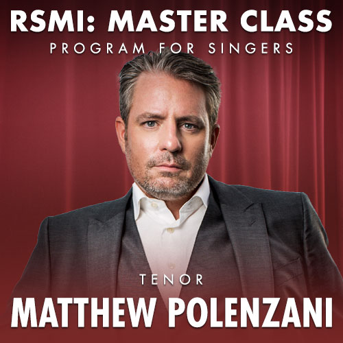 Ravinia Festival - Official Site | Master Class with Matthew Polenzani