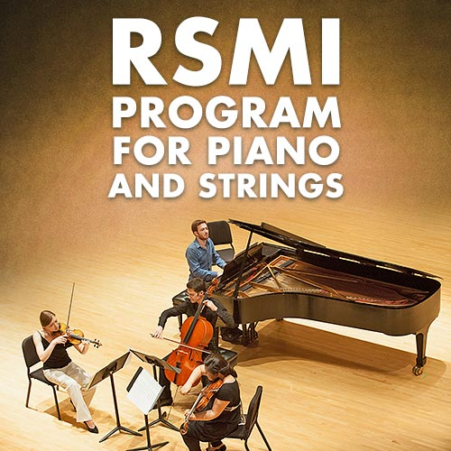 RSMI Piano and Strings Concert I