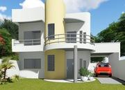 Planta de casa cod 133 fachada 1