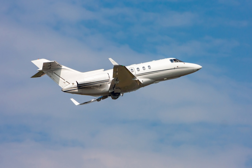 Gulfstream private flight