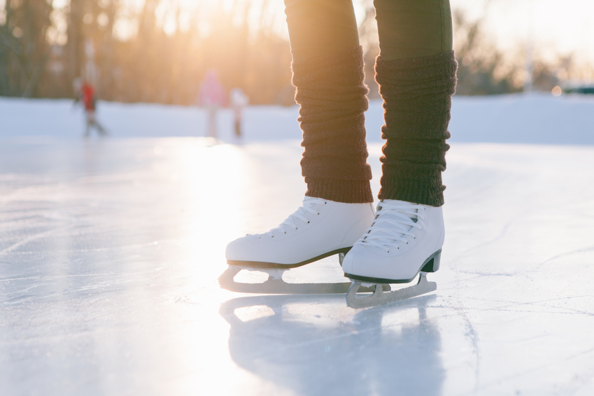 How to make a homemade ice rink