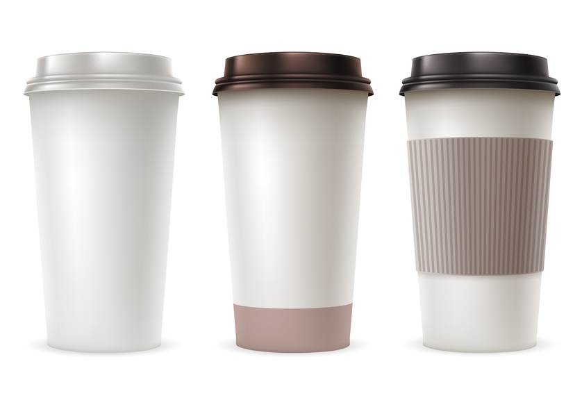 Wholesale paper coffee cups