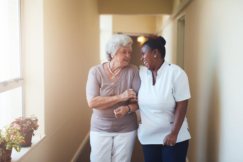 Senior in home care services