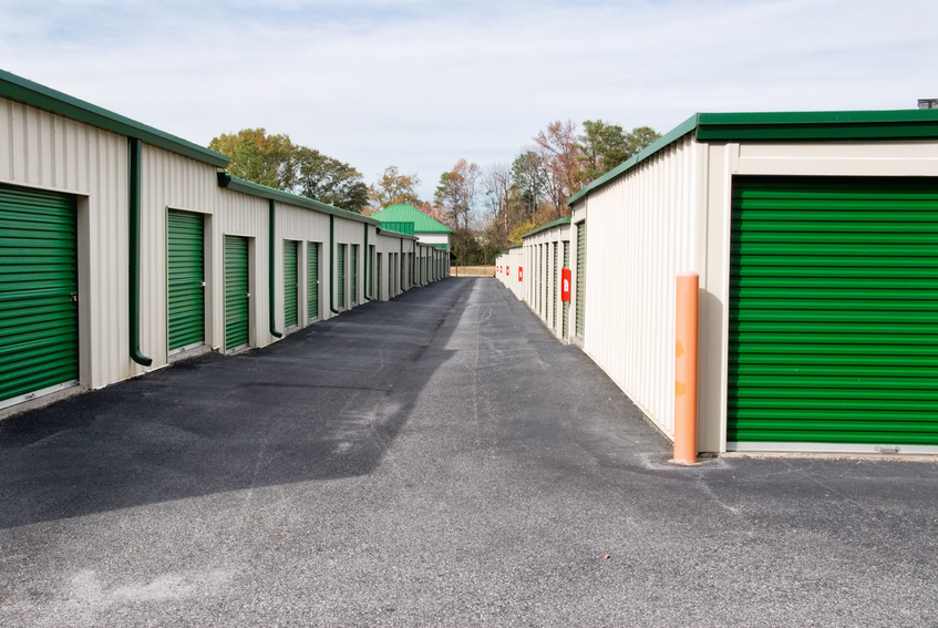 Storage units for vehicles