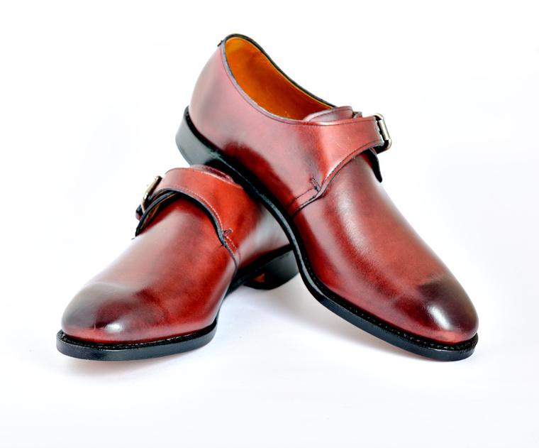 Luxury ostrich skin boots