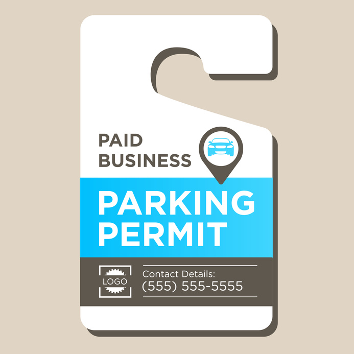valet parking tickets templates