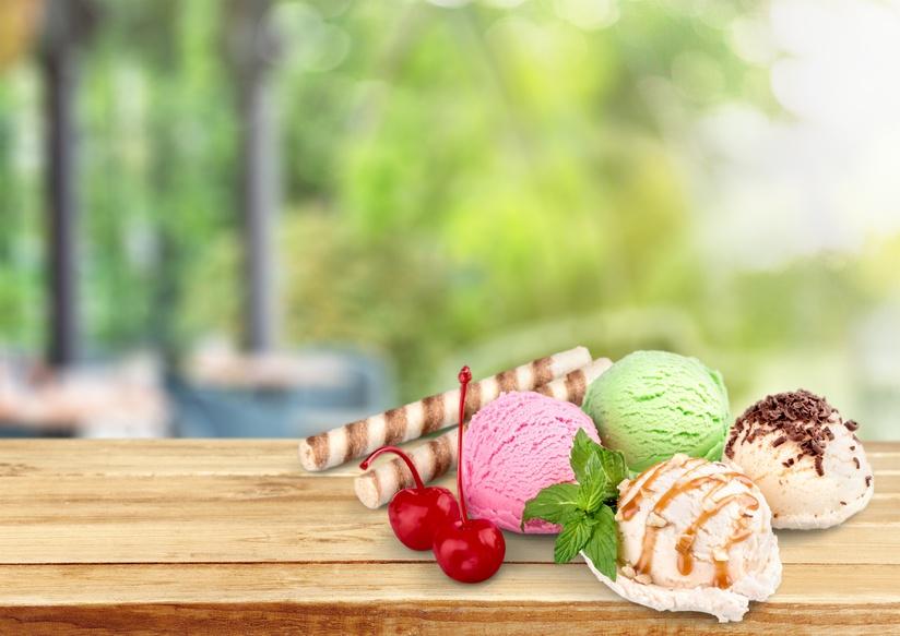 Paper ice cream cup