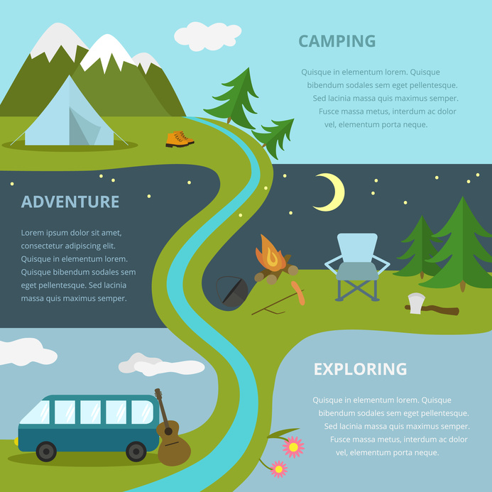 Website design campgrounds