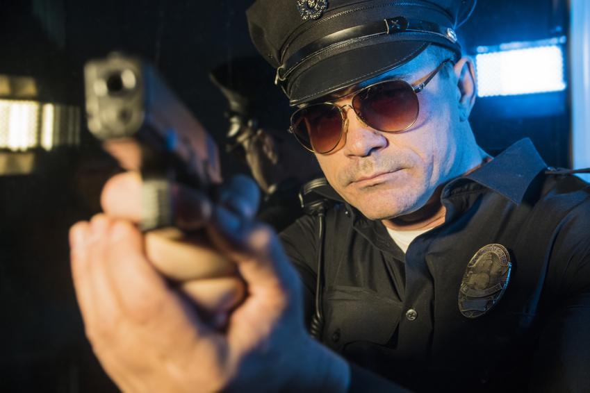 Police car camera