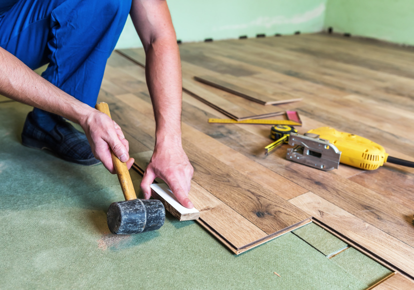 Property Care Tips Laminate Flooring For Home Improvement