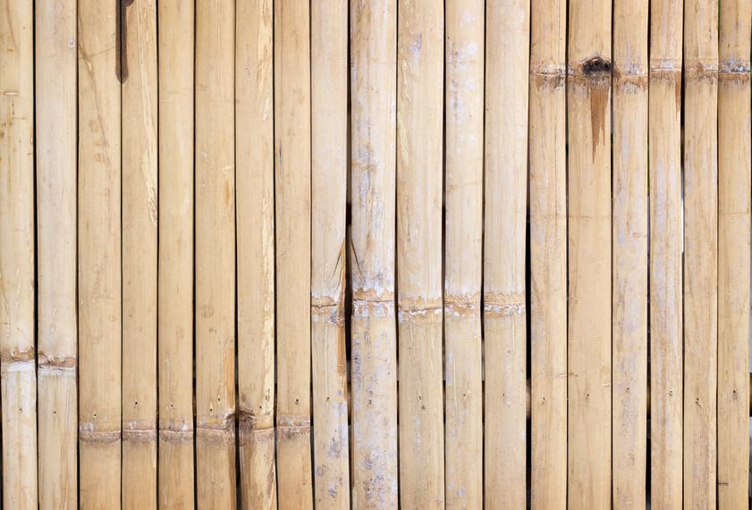 Natural bamboo flooring installation