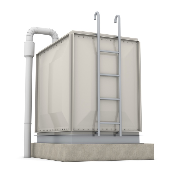 Potable water tank rental