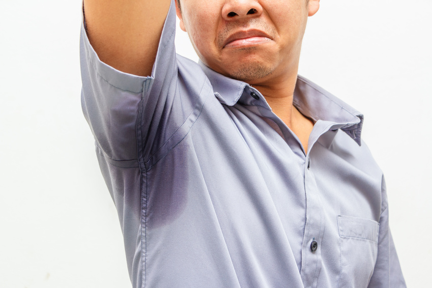 What can you use to stop sweating under your arms