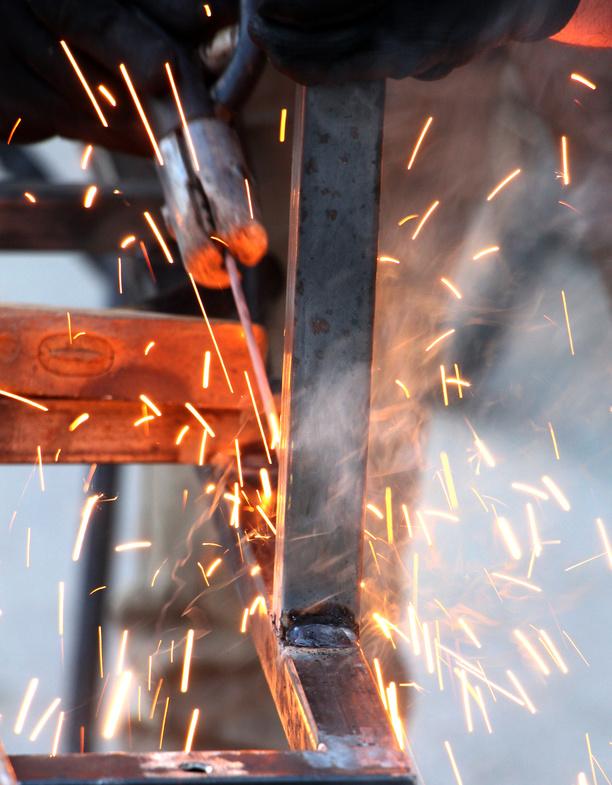 Purging equipment for welding