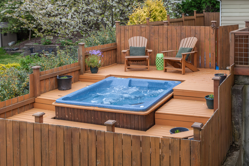 Hot tub and spas for sale
