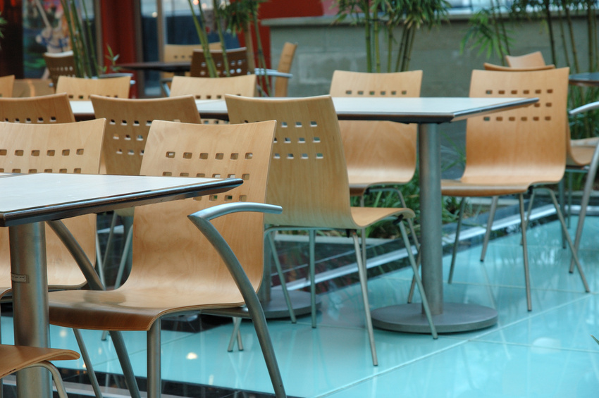 Food court restaurants