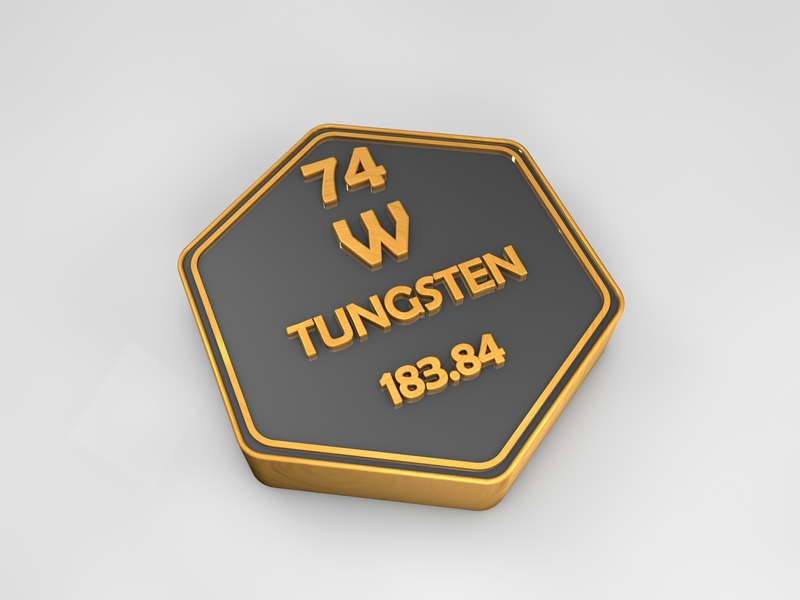 Tungsten crucible evaporation boat