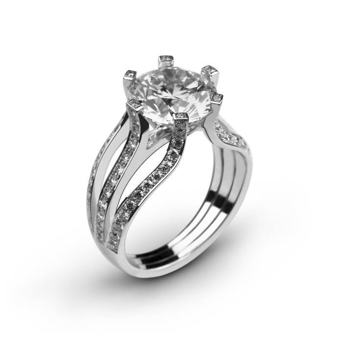 Diamond engagement ring alpharetta