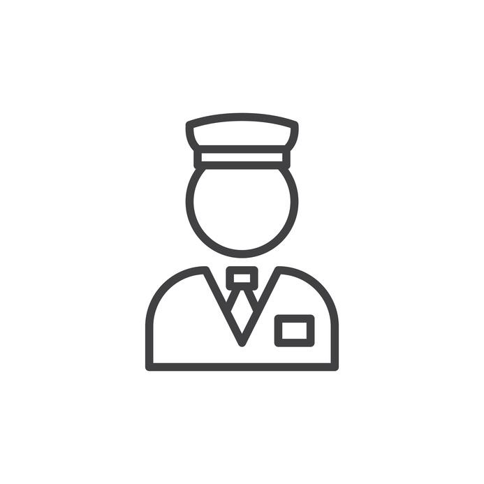 Custom valet parking ticket