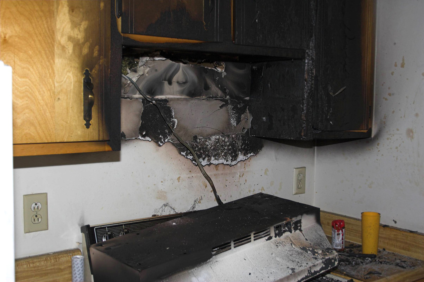 Fire damage restoration in miami