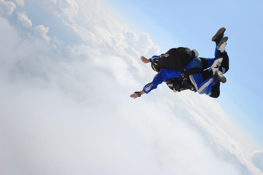 first tandem jump