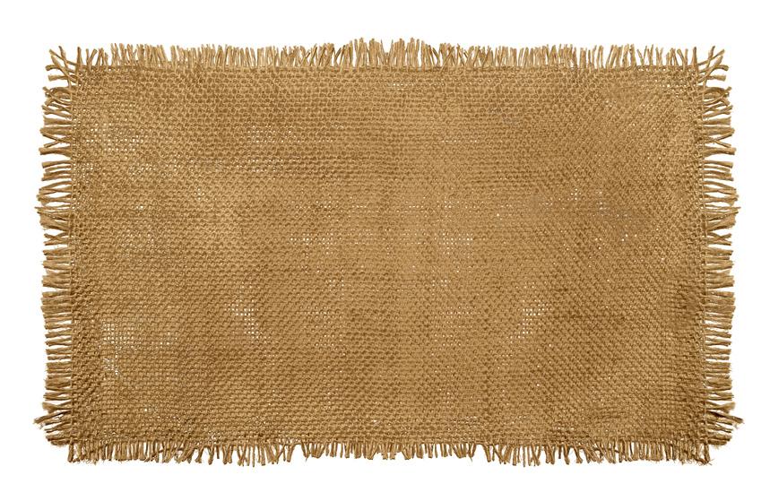 faux burlap table linen
