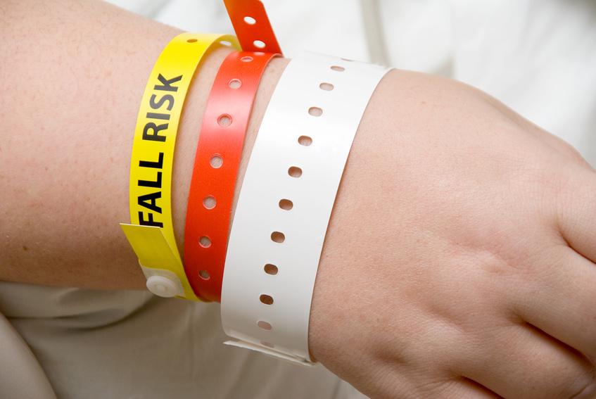 Printed plastic wrist bands