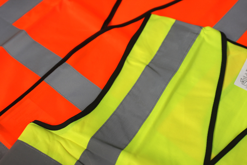 High visibility fleece jackets