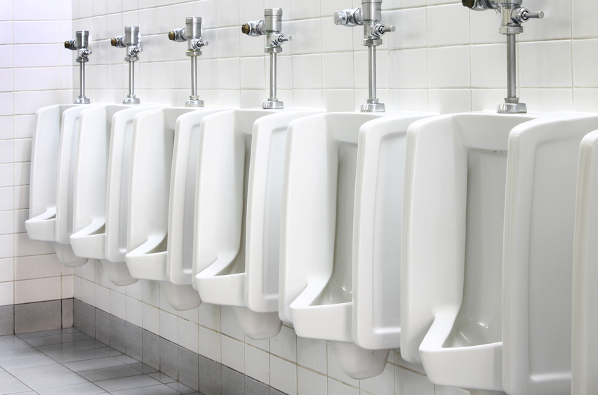 Commercial lavatory sinks