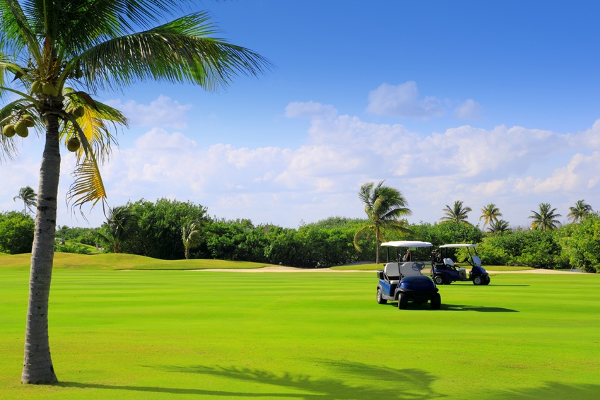 Luxury golf vacation