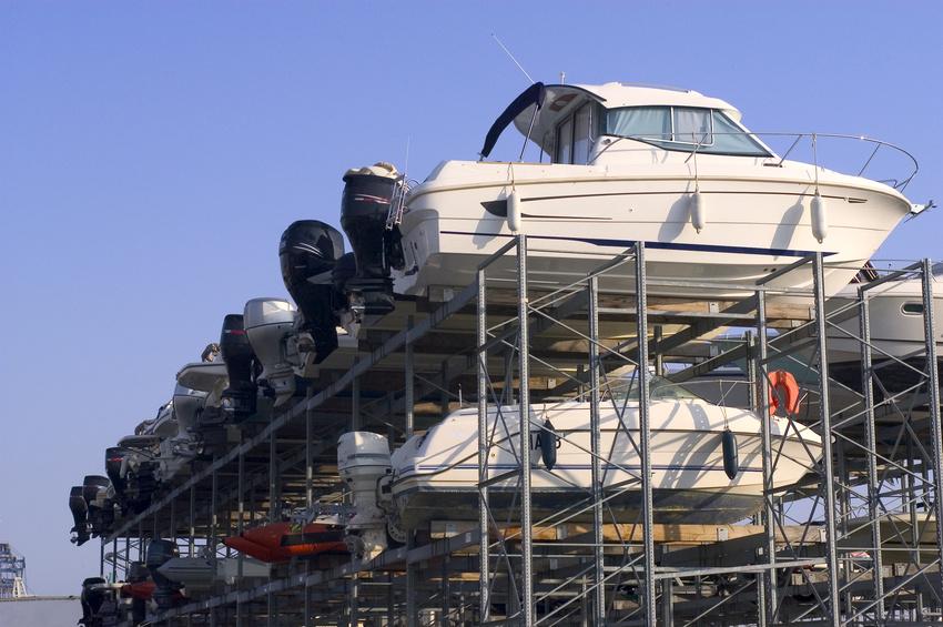 Conroe boat storage