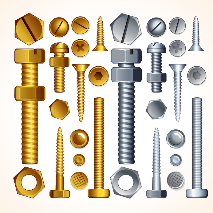 Nuts and bolts hardware