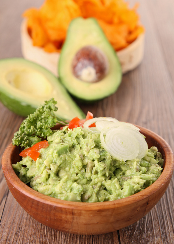 Basic guacamole recipe