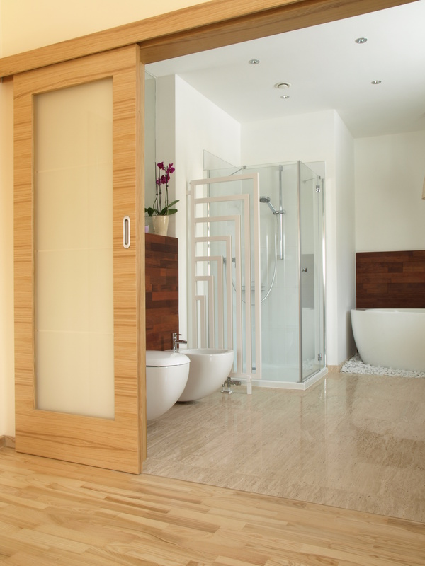 Michigan sliding shower doors