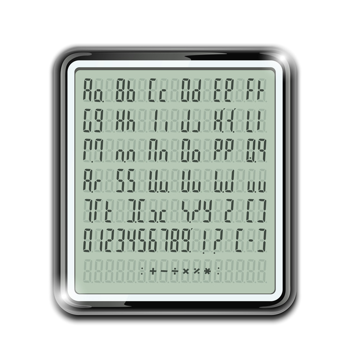 Alphanumeric display